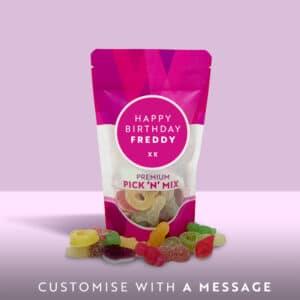150g custom message