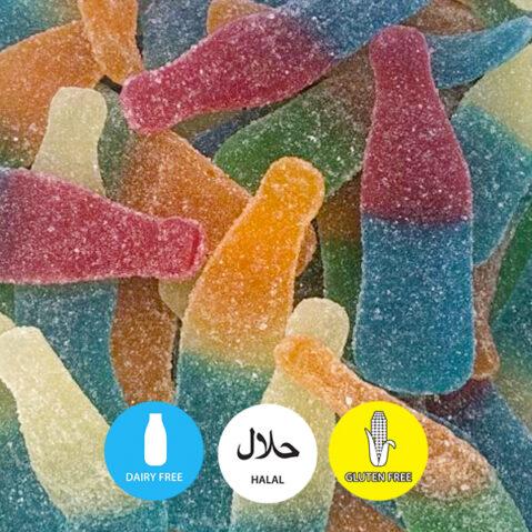 halal tutti frutti bottles