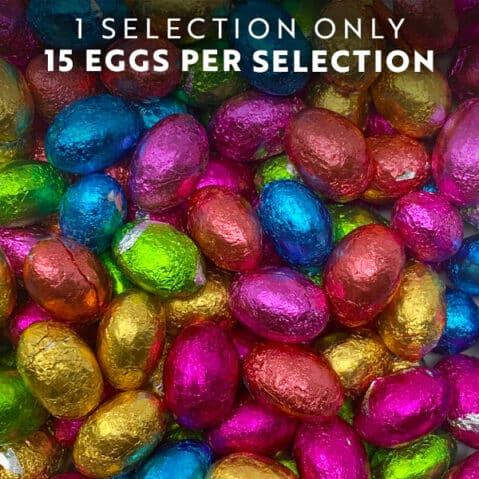 easter mini chocolate eggs